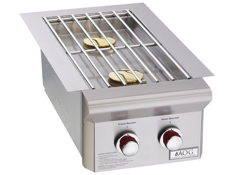 AOG Grill T-Series Drop-In Natural Gas Double Side Burner AG3282T