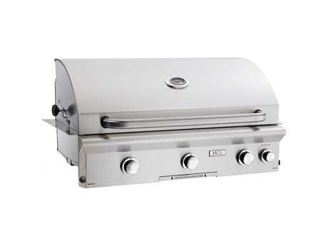 AOG L Series Built-in 36''  BBQ Grill with Rotisserie and Back Burner