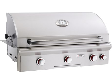 T Series Built-in 36'' BBQ Grill with Rotisserie and Back Burner