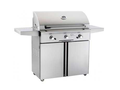 AOG L Series Portable 36'' On Cart  BBQ Grill PatioLiving