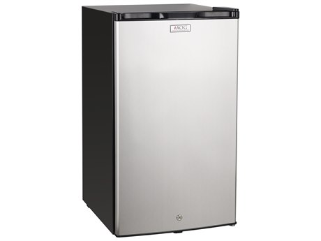 AOG 20 Inch 4.2 Cu. Ft. Capacity Stainless Steel Compact Refrigerator with Locking Door