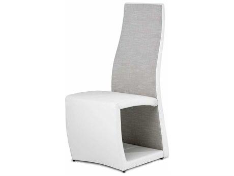Aico Furniture Michael Amini Cosmo Off White Dining Side Chair