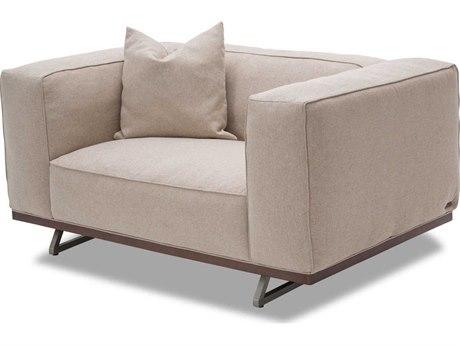 Aico Furniture Michael Amini Tempo Sand Chair and a Half
