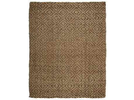 Anji Mountain Jute Rectangular Perfect Diamond Area Rug