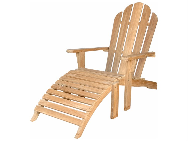 Anderson Teak Adirondack With Ottoman PatioLiving