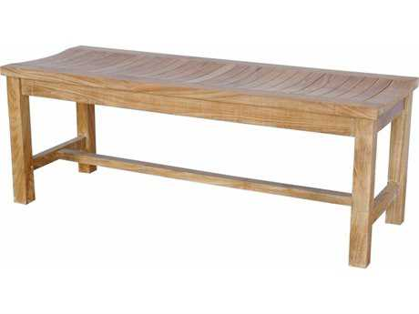 Anderson Teak Casablanca 2-Seater Backless Bench