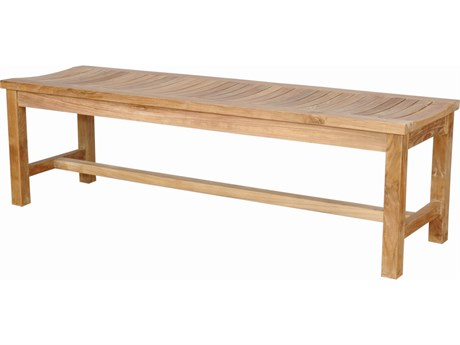 Anderson Teak Casablanca 3-Seater Backless Bench PatioLiving