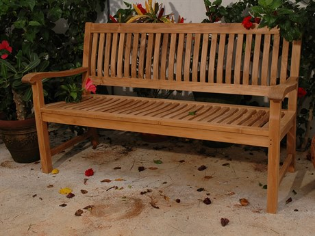 Anderson Teak Del-Amo 3-Seater Bench PatioLiving