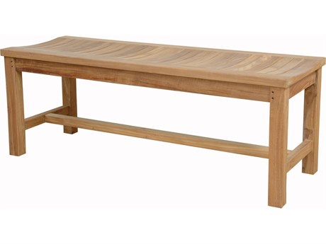 Anderson Teak Madison 48'' Backless Bench PatioLiving