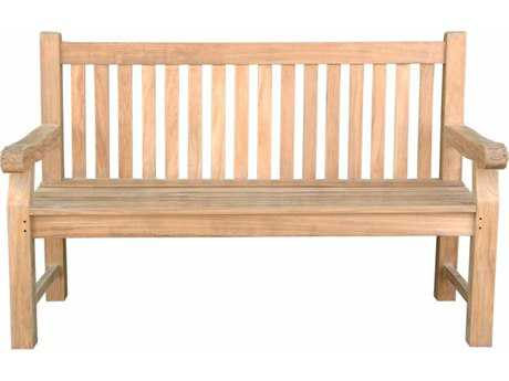 Anderson Teak Arm Bench