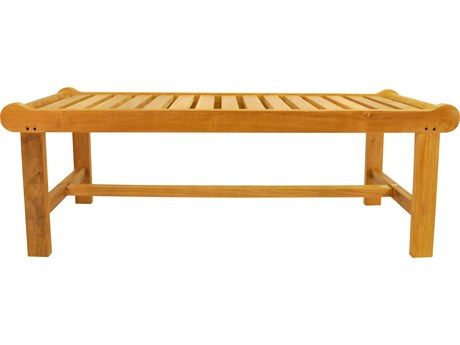 Anderson Teak Cambridge 2-Seater Backless Bench PatioLiving