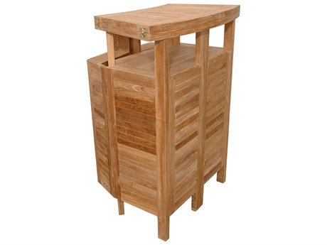 Anderson Teak Altavista Folding Bar Table PatioLiving