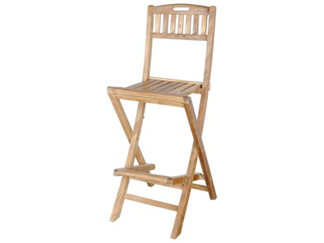Anderson Teak Altavista Folding Bar Chair PatioLiving