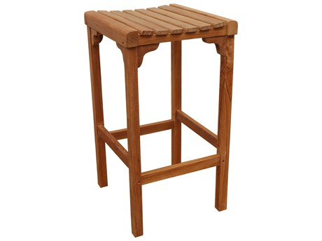 Anderson Teak Montego Backless Bar Chair PatioLiving