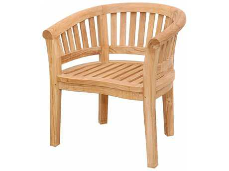 Anderson Teak Curve Armchair Extra Thick Wood