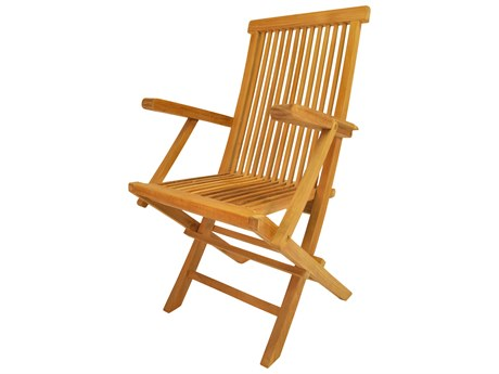 Anderson Teak Classic Folding Dining Armchair (Set of Two)