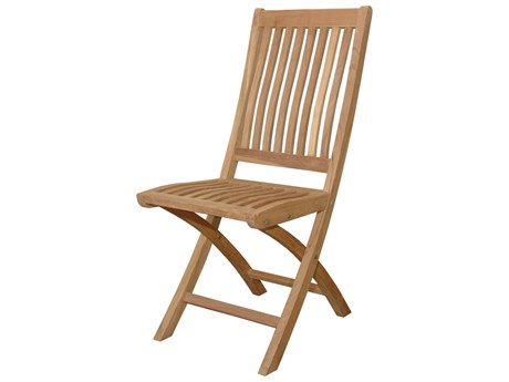 Anderson Teak Tropico Folding Dining Chair (Set of Two) PatioLiving