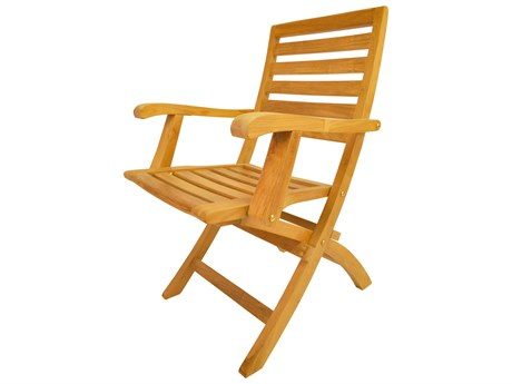 Anderson Teak Andrew Folding Dining Armchair (Set of Two) AKCHF109