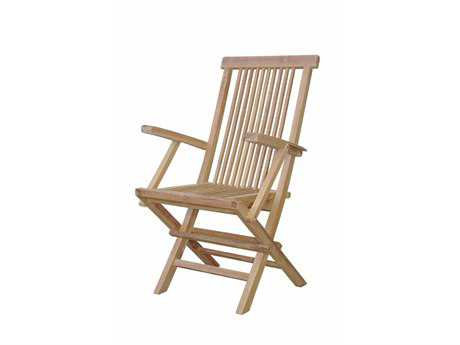Anderson Teak Bristol Folding Armchair (Sold as Set of Two)