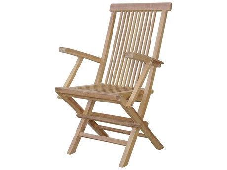 Anderson Teak Bristol Folding Dining Armchair (Set of Two)
