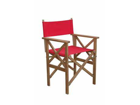 Anderson Teak Director Folding Armchair w/ Canvas (Sold as a Pair)