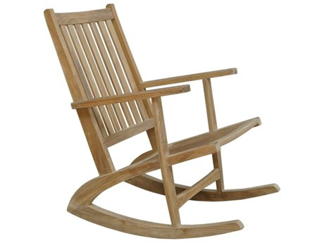 Anderson Teak Modern Rocking Armchair PatioLiving