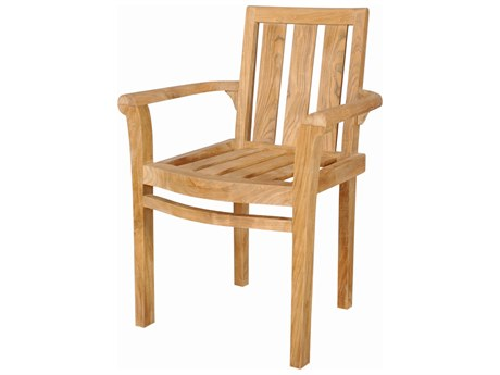 Anderson Teak Classic Stackable Armchair (Sold as Set of Four) AKCHS011A