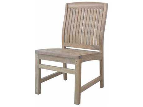 Anderson Teak Sahara Non Stack Dining Side Chair