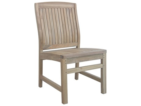 Anderson Teak Sahara Non Stack Dining Side Chair PatioLiving