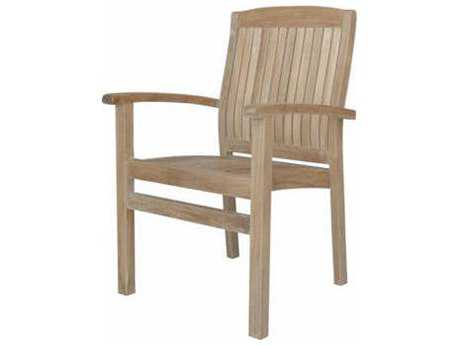 Anderson Teak Sahara Stackable Dining Armchair