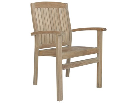 Anderson Teak Sahara Stackable Dining Armchair (Set of 4)