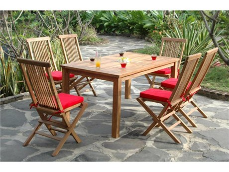 Anderson Teak Replacement Cushion for SET-202 (Price Includes 6 Cushions) PatioLiving