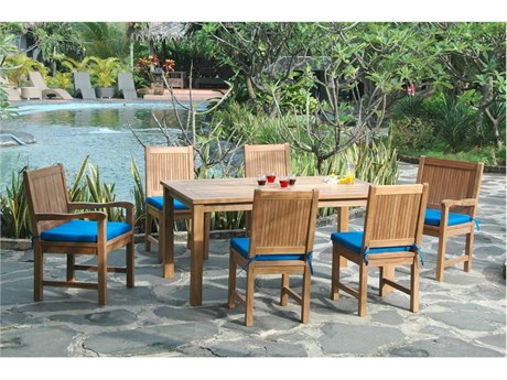 Anderson Teak Replacement Cushion for SET-204 (Price Includes 6 Cushions) PatioLiving