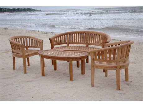 Anderson Teak Replacement Cushion for SET-5 (Price Includes 3 Cushions) AKCUSHSET5