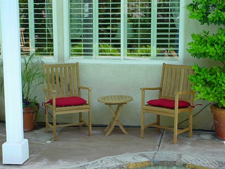 Anderson Teak Replacement Cushion for Wilshire Chairs & Side Table Set (Price Includes 2 Cushions) PatioLiving