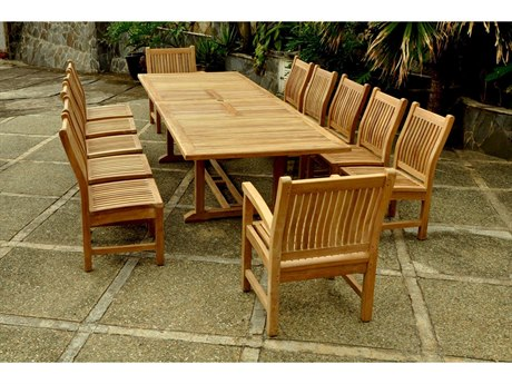 Anderson Teak Replacement Cushion for SET-90 (Price Includes 12 Cushions) PatioLiving