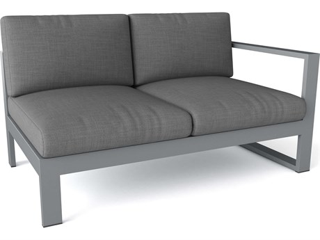 Anderson Teak Lucca Aluminum Right Loveseat