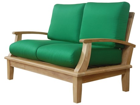 Anderson Teak Brianna Deep Seating Loveseat + Cushion PatioLiving
