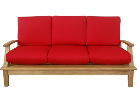 Anderson Teak Brianna Deep Seating Sofa + Cushion PatioLiving