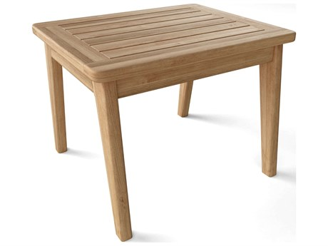 Anderson Teak Amalfi 22''W x 18''D Rectangular Side Table