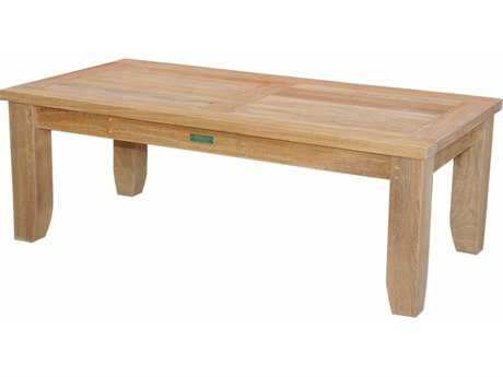 Anderson Teak Luxe 47 x 23 Rectangular Coffee Table