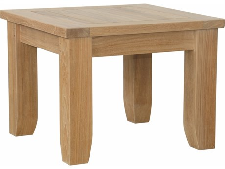 Anderson Teak Luxe Square Side Table PatioLiving