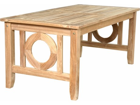 Anderson Teak Napseta 48 x 24 Rectangular Coffee Table PatioLiving