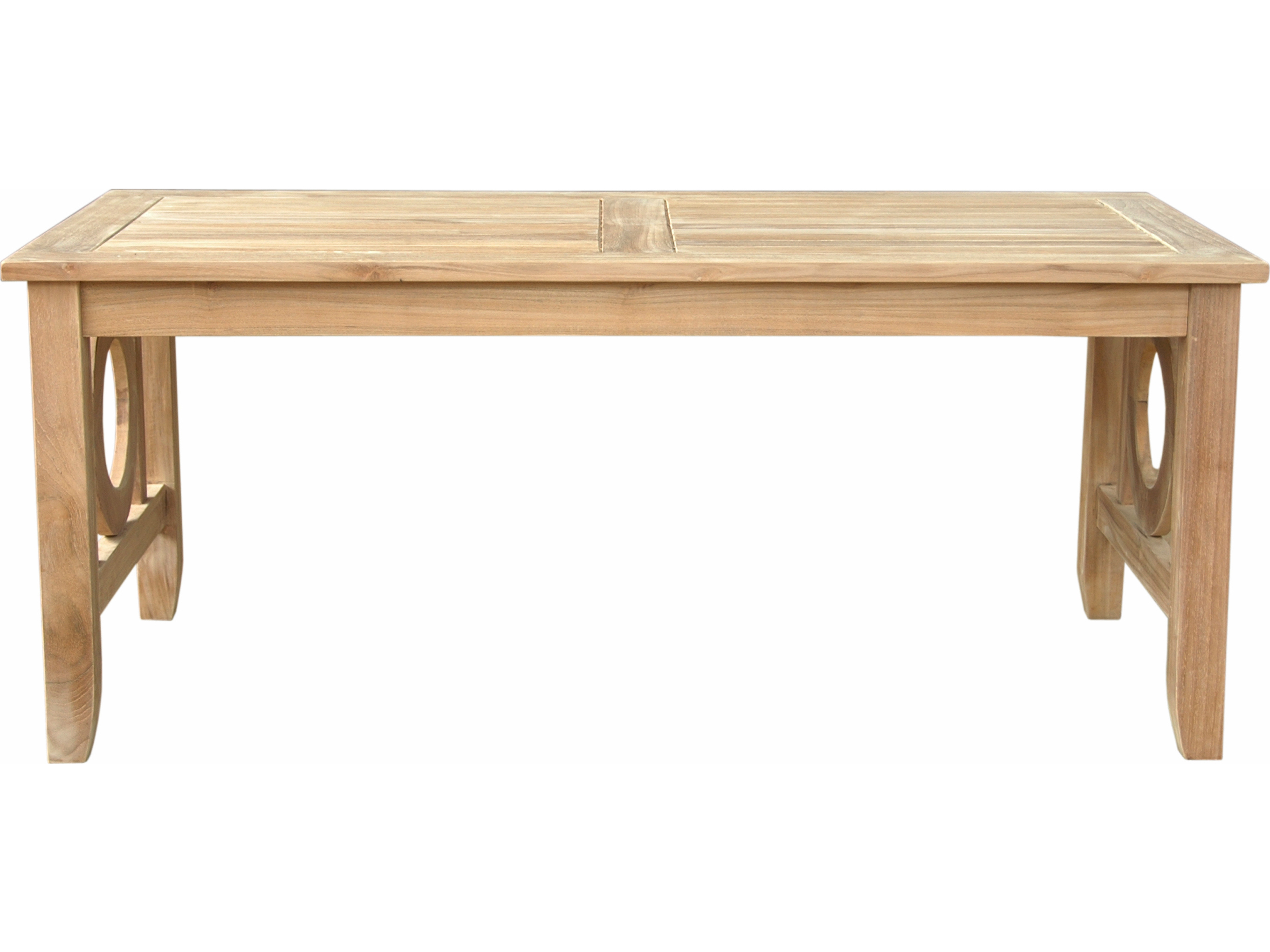 Anderson Teak Napseta 48 X 24 Rectangular Coffee Table Ds 704