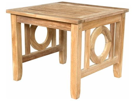 Anderson Teak Napseta 24 Square Side Table PatioLiving