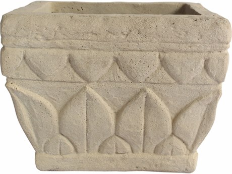 Anderson Teak Verona Cast Limestone Planter