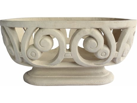 Anderson Teak Milano Oval Planter PatioLiving