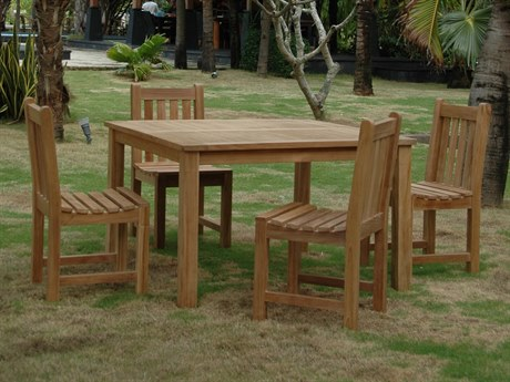 Anderson Teak Classic Dining Set PatioLiving