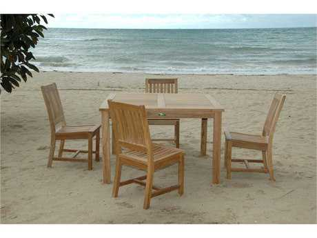 Anderson Teak Windsor Rialto 7-Piece Dining Table Set