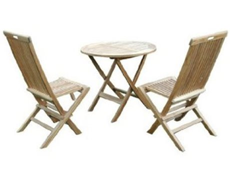 Anderson Teak Classic Bistro Table Set PatioLiving
